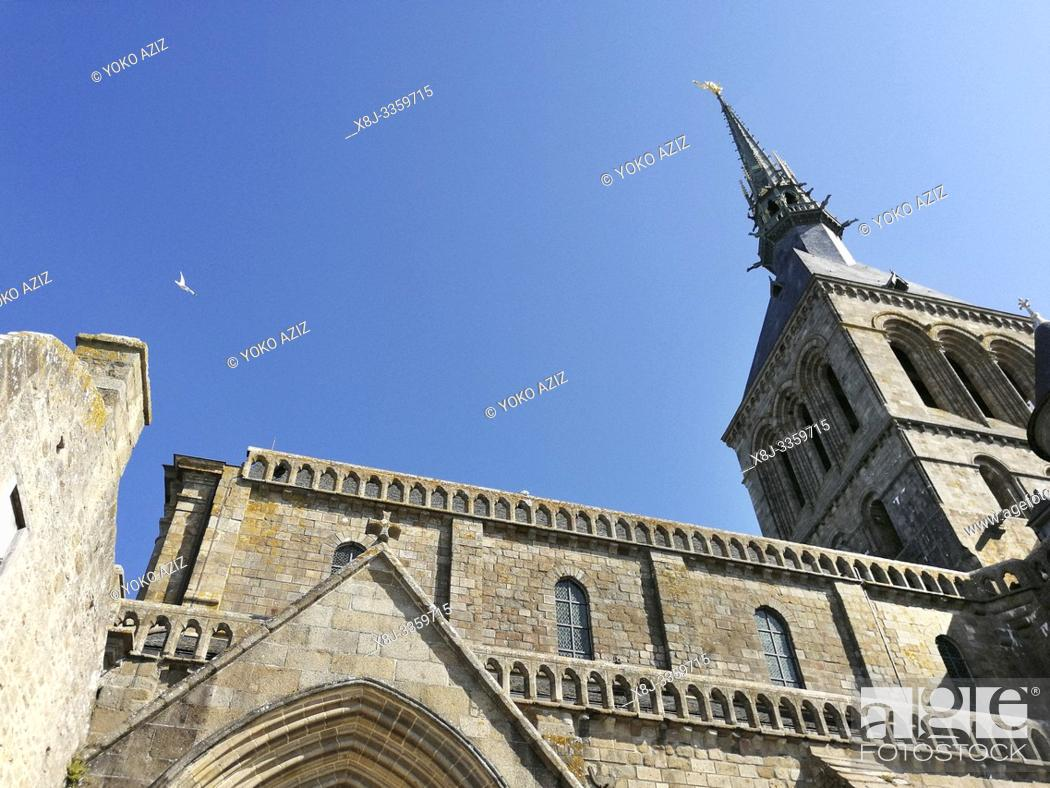 Stock Photo: France, Normandy, Le Mont-Saint-Michel.