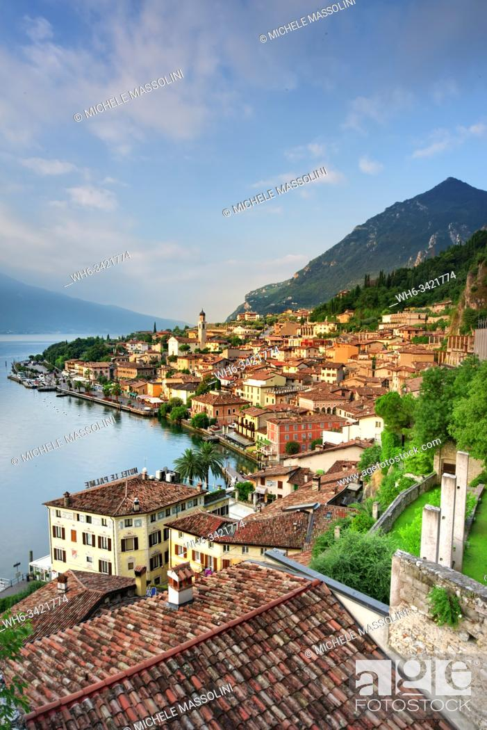 Stock Photo: Limone sul Garda. Lombardy, Italy.