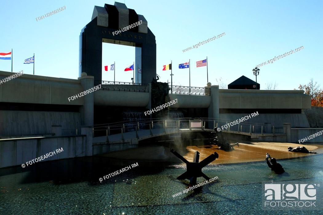 Stock Photo Bedford Va Virginia The National D Day Memorial
