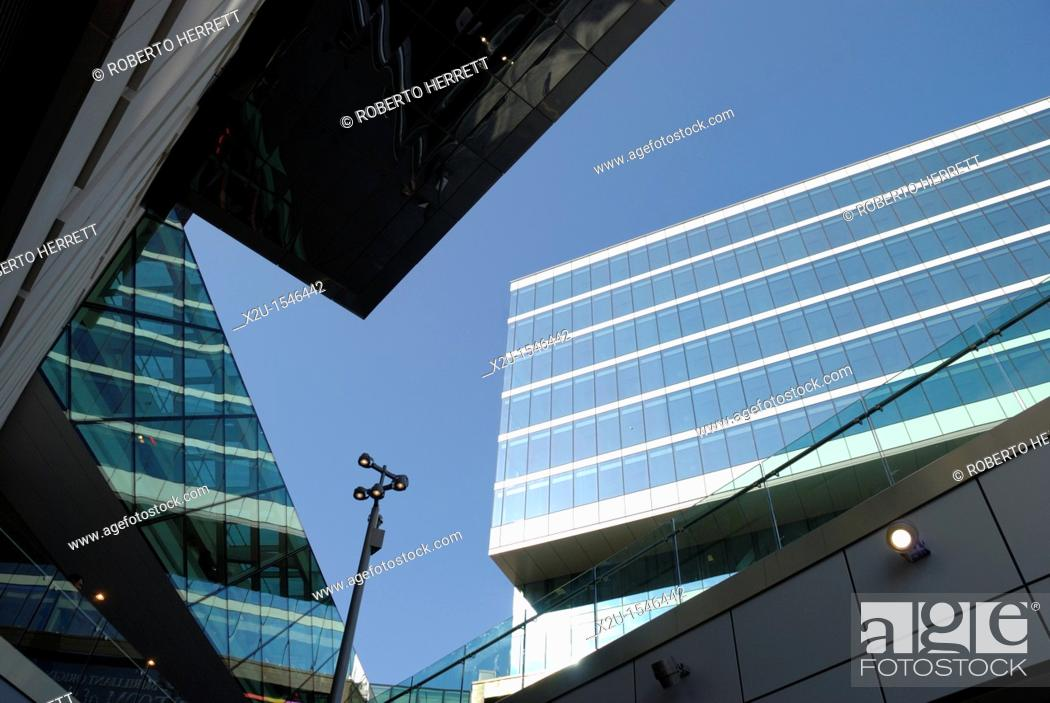 Stock Photo: Stratford City development, London, England.