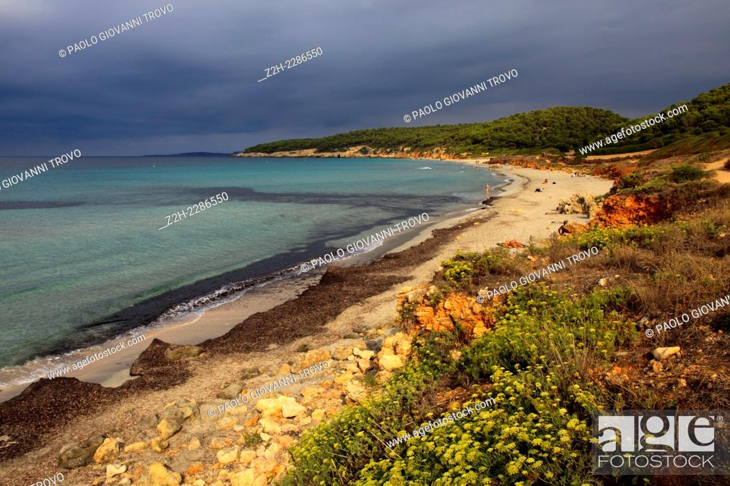 Stock Photo: Binigaus beach, Sant Tomas, Menorca, Balearic Islands, Spain.