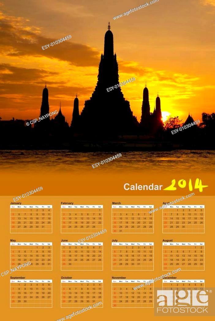 Stock Photo: Wat Arun Temple in bangkok thailand.