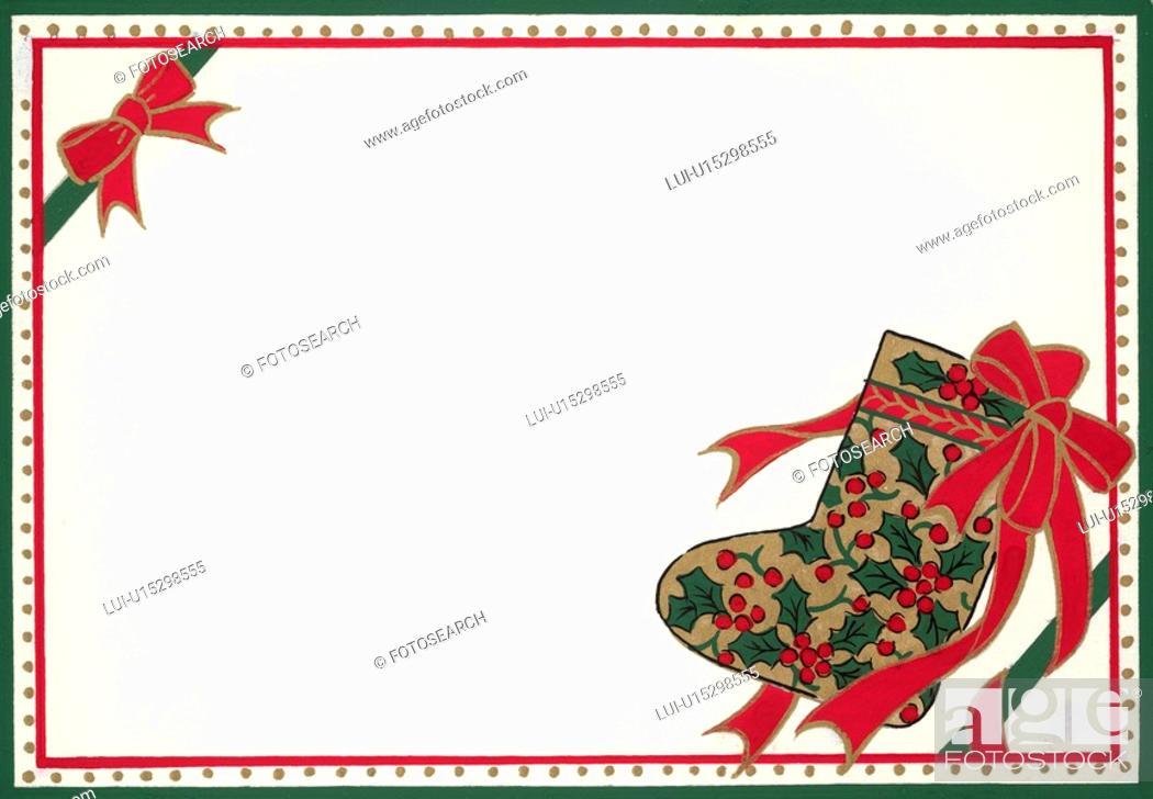 Stock Photo: Christmas Card.
