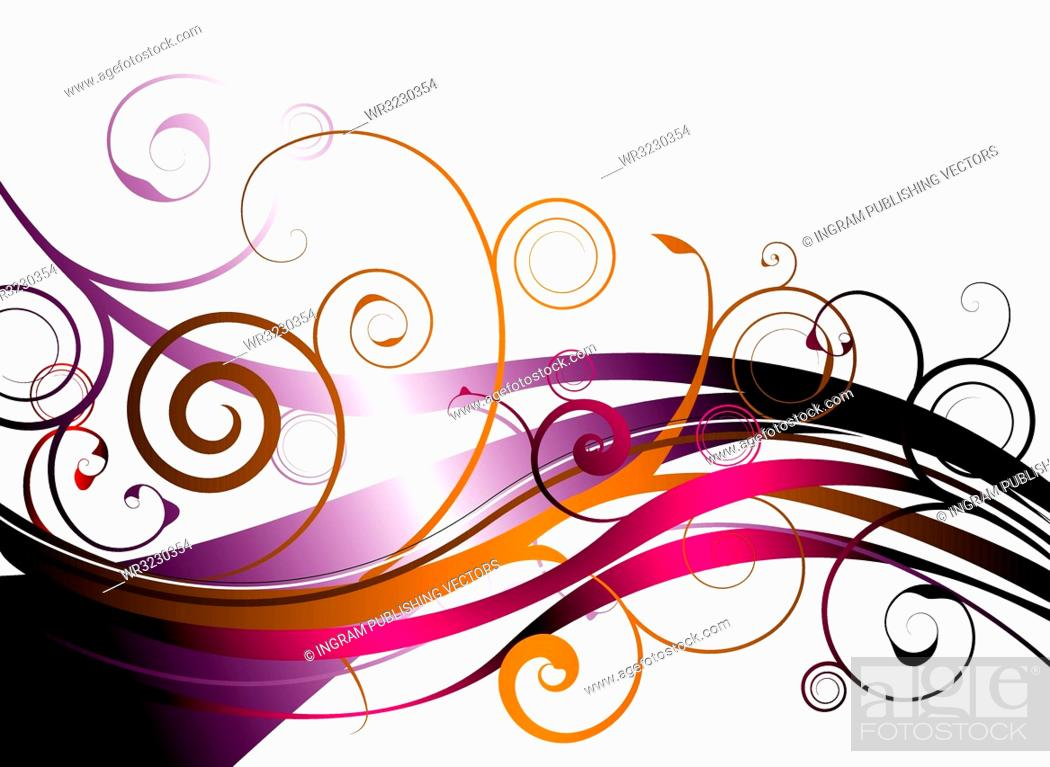 Vector: explosion of floral color ideal as a background or desktop.