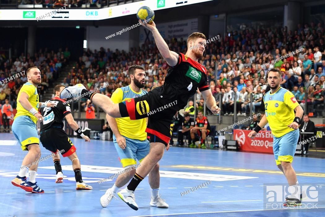 Johannes Golla Ger Jump Shot Action Handball