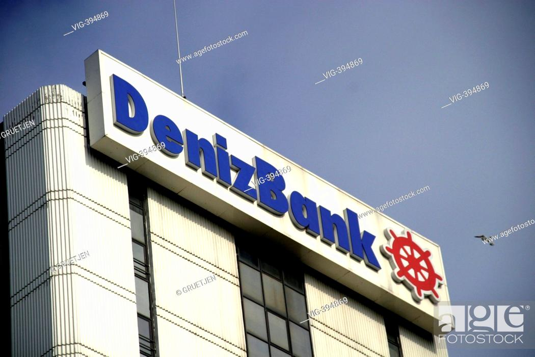 Denizbank-headquaters in the banking district - Istanbul, Turkey, 16