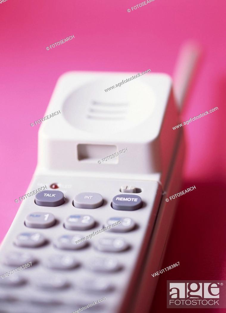 Stock Photo: Telephone Handset.