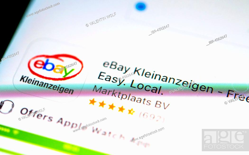 EBay Classifieds App in the Apple App Store, App-Icon