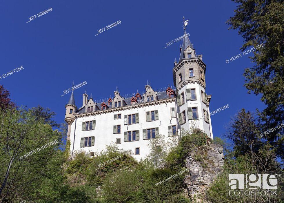 Imagen: Europe, Luxembourg, Larochette, Meysembourg Castle.
