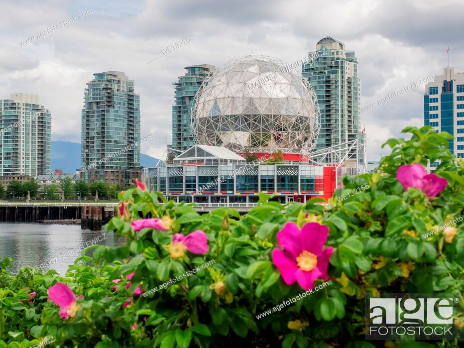 Imagen: Science World at Telus World of Science, Vancouver is a science centre run by a not-for-profit organization in Vancouver, British Columbia, Canada.