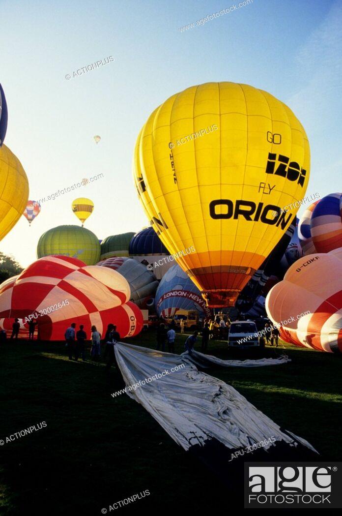 Imagen: Hot air balloon festival.