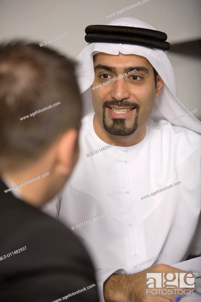 Stock Photo: business, businessmen, businessman, Arabic.