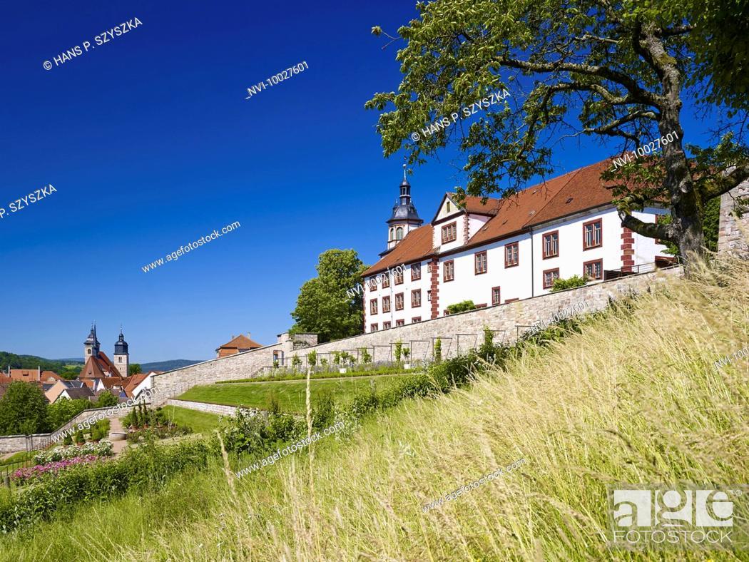 Stock Photo: Wilhelmsburg Castle in Schmalkalden, Thuringia, Germany.