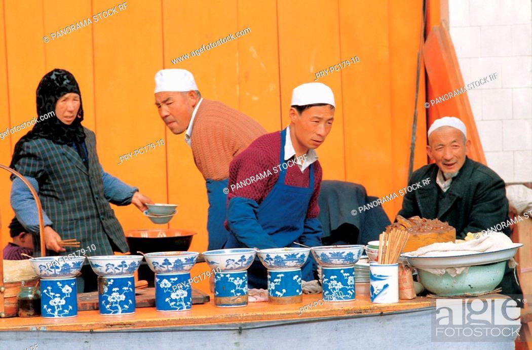 Stock Photo: Hui ethnic.