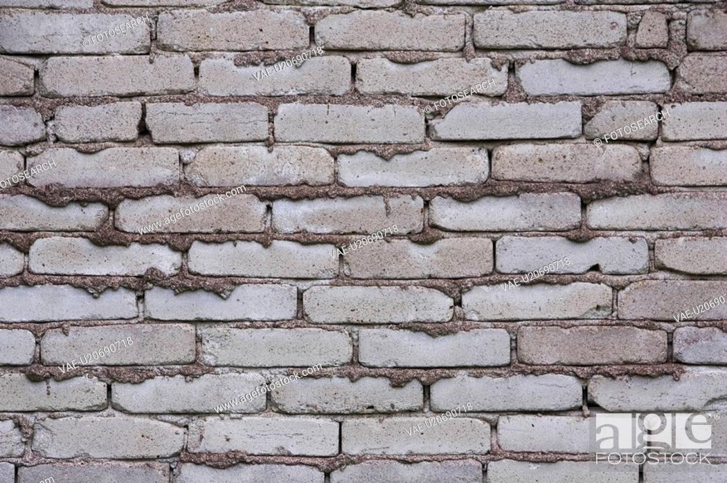 Stock Photo: Background, Brick, Brick Wall, Close-Up.