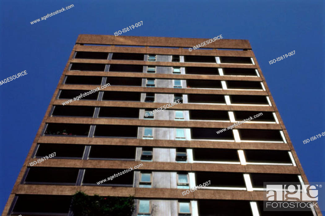 Stock Photo: Apartment building.