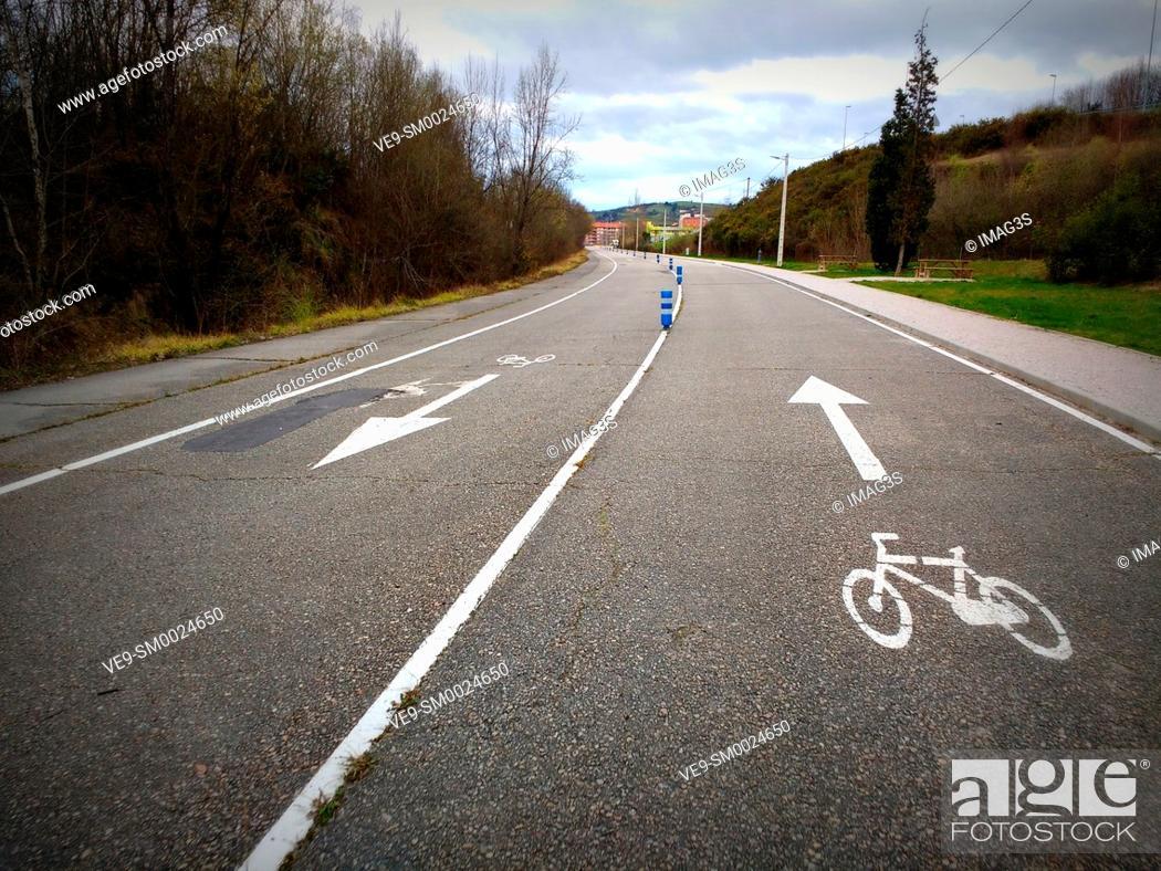 Imagen: 'Chechu Rubiera' cycling circuit, Pola de Siero, Asturias, Spain.