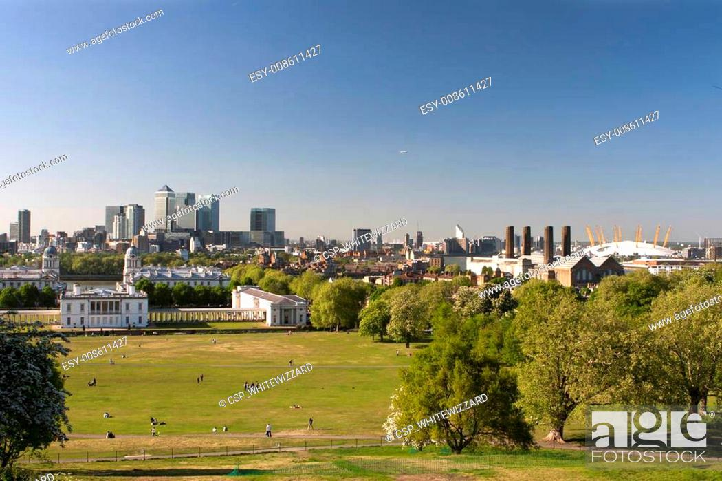 Imagen: Panorama of London from the hills of Greenwich.