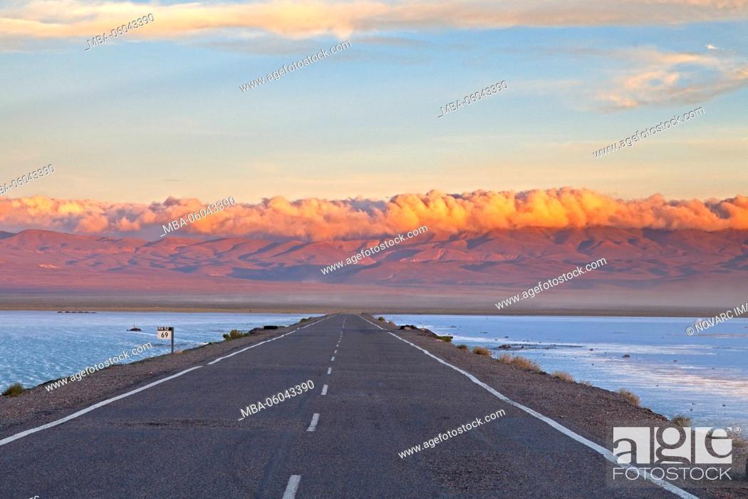Stock Photo: Salinas Grandes, Puna Desert, Jujuy Province, Argentina, South America.