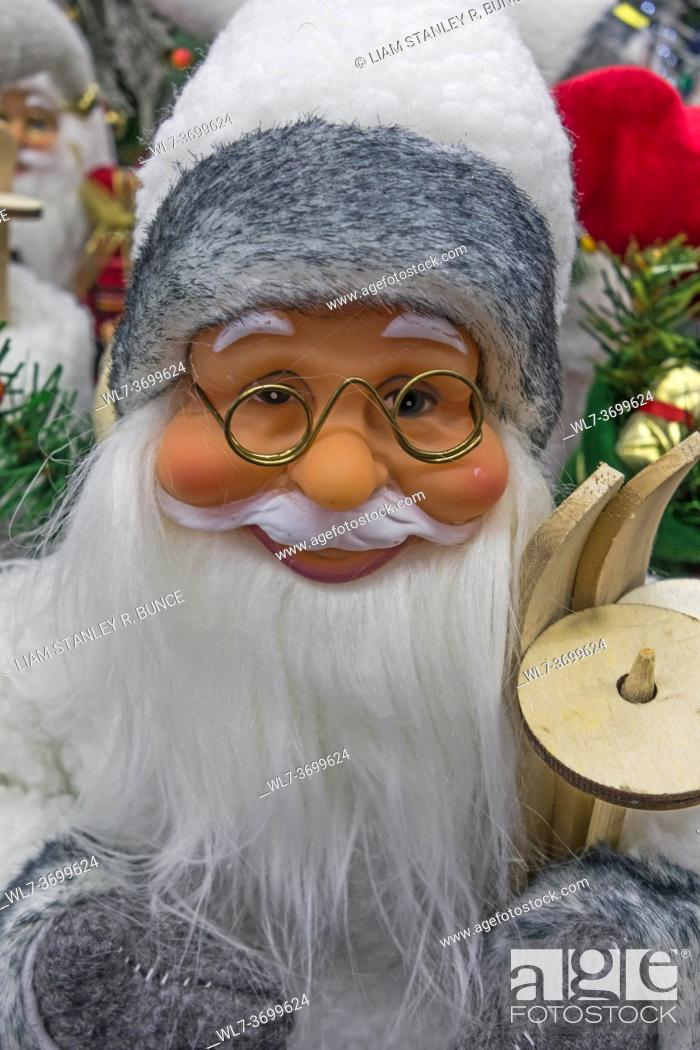 Stock Photo: Father Christmas.