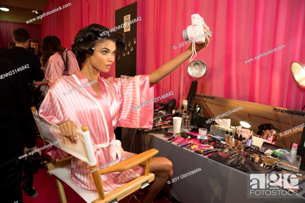 06b3ff19ddf ... 2015 Victoria s Secret Fashion Show at The New York Armory - Backstage  Featuring  Sara Sampaio Where  New York