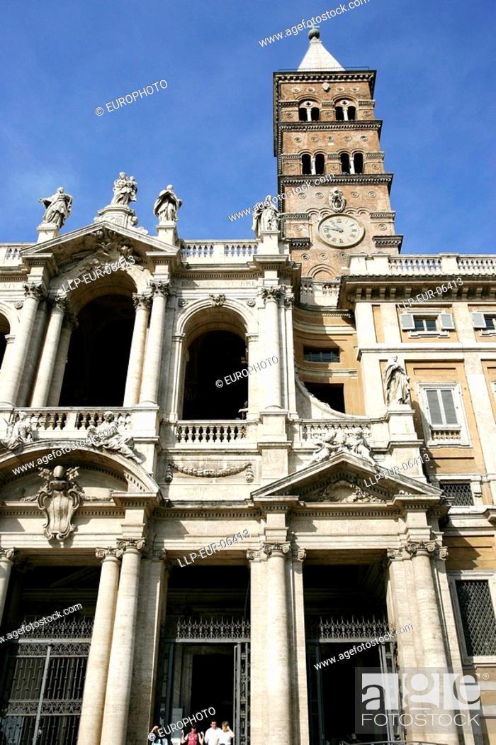 Stock Photo: basilica Santa Maria Maggiore.