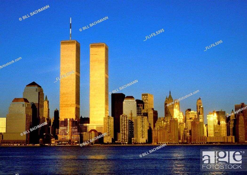 Stock Photo: Skyline, New York City.