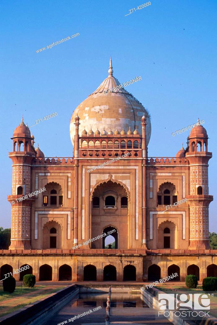Stock Photo: Safdarjang's Tomb, Delhi. India.