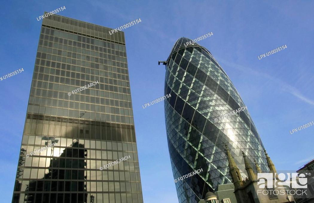 Stock Photo: Swiss Re building.