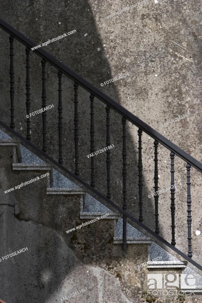 Stock Photo: Series, Pattern, Design, appearance, Arrangement, hand rail.