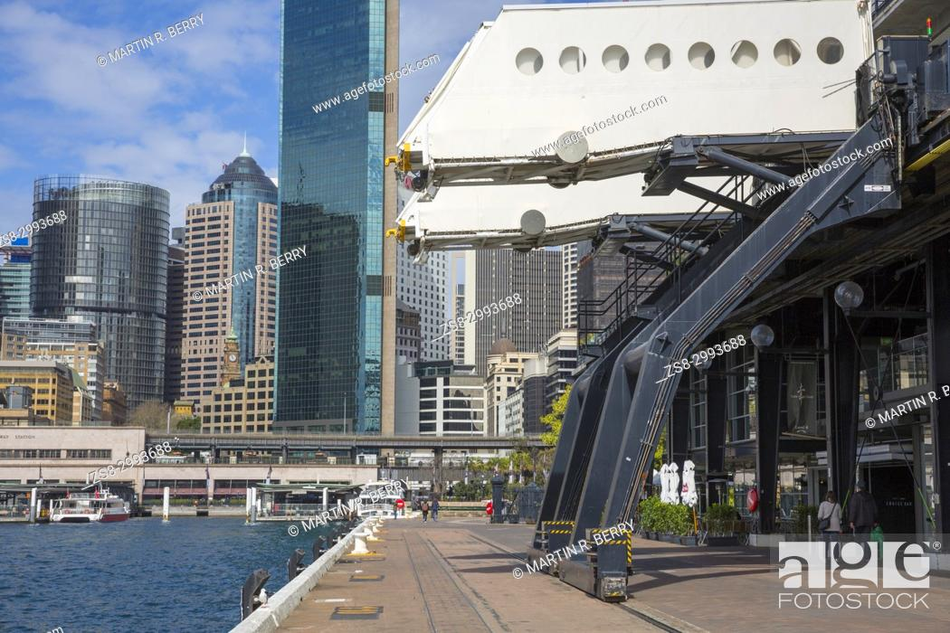 Stock Photo: sydney Circular Quay and Overseas Passenger Terminal.