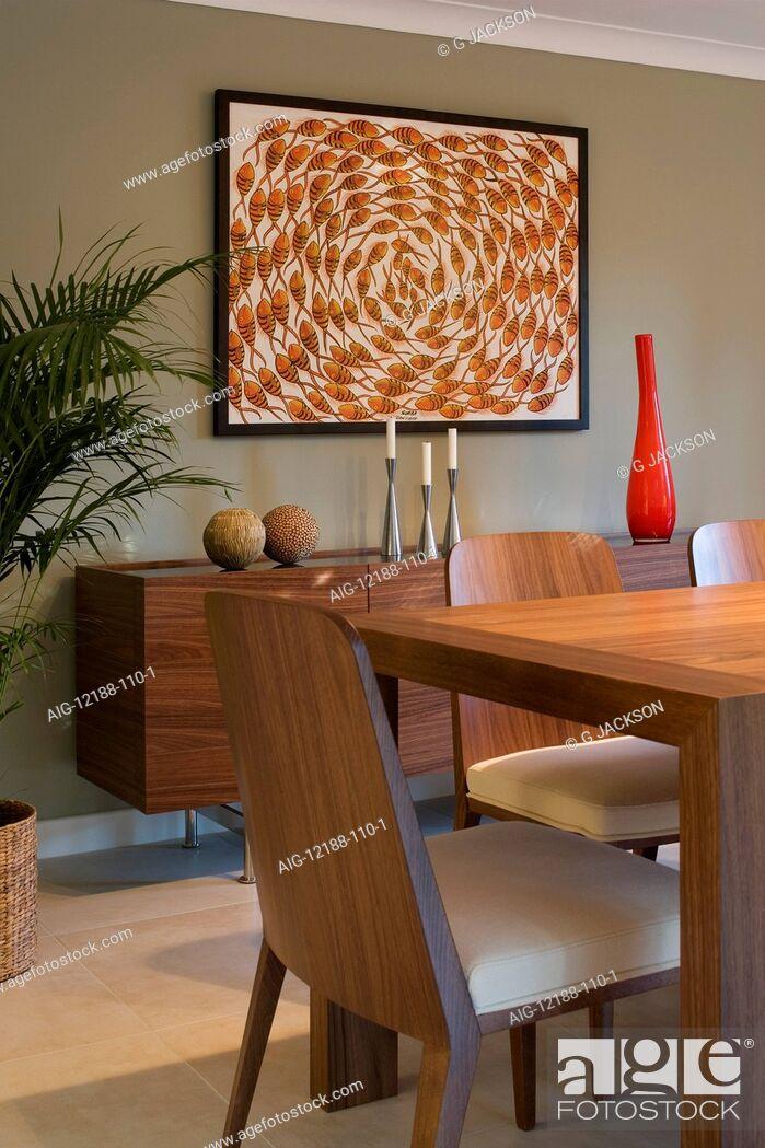 Stock Photo: Modern Home, Thames Ditton, Surrey.