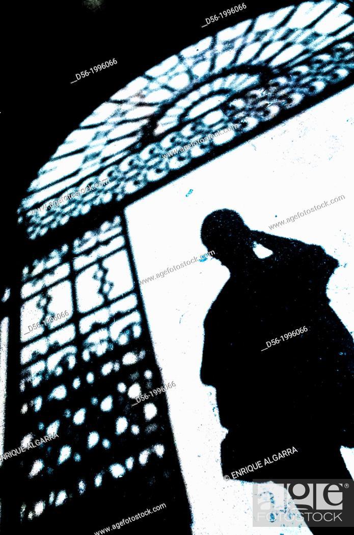 Stock Photo: Shadow, Valencia, Spain.