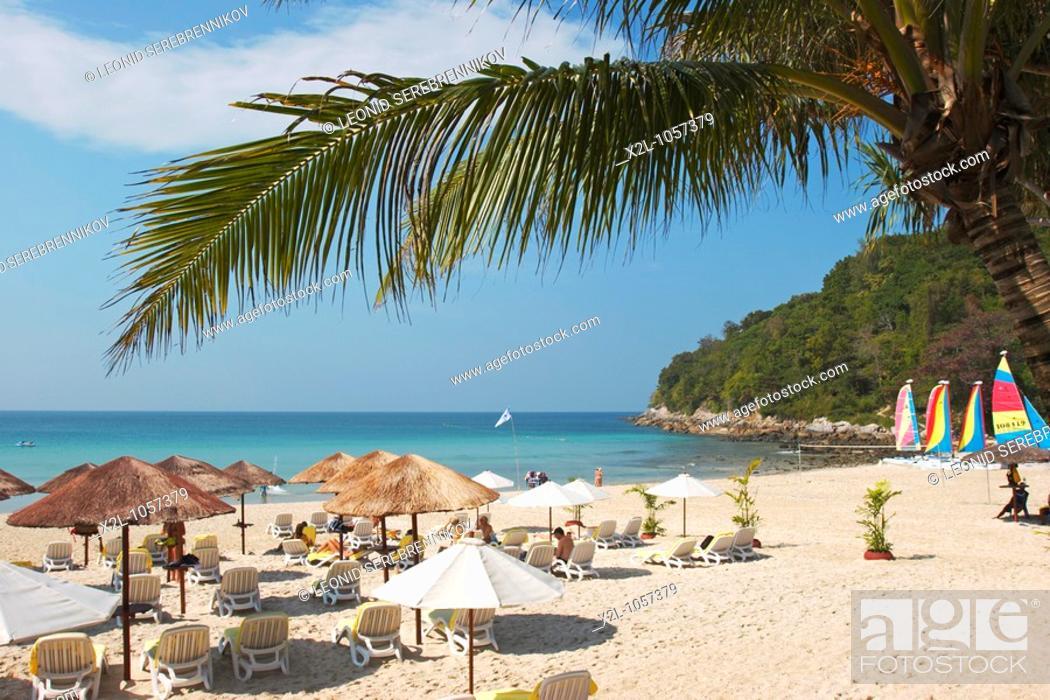 Stock Photo: Karon Noi, or Relax Bay beach  Phuket, Thailand.