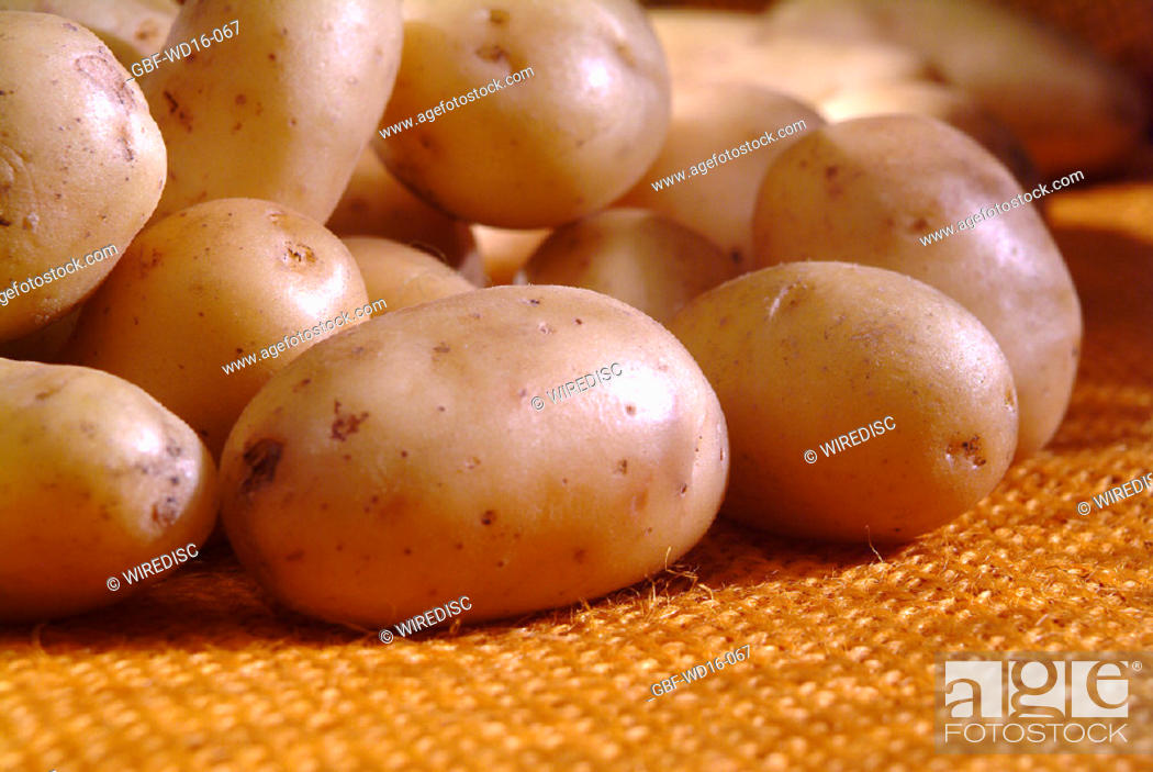 Stock Photo: Food, vegetables, potato.