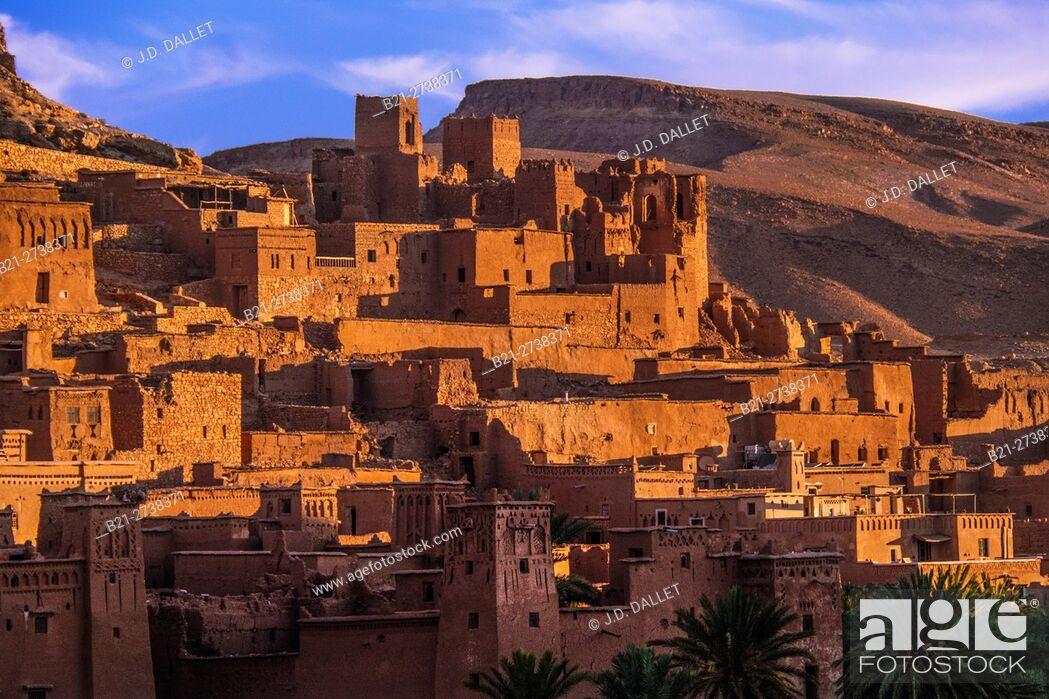 Stock Photo: Aït Ben Haddou, Morocco.
