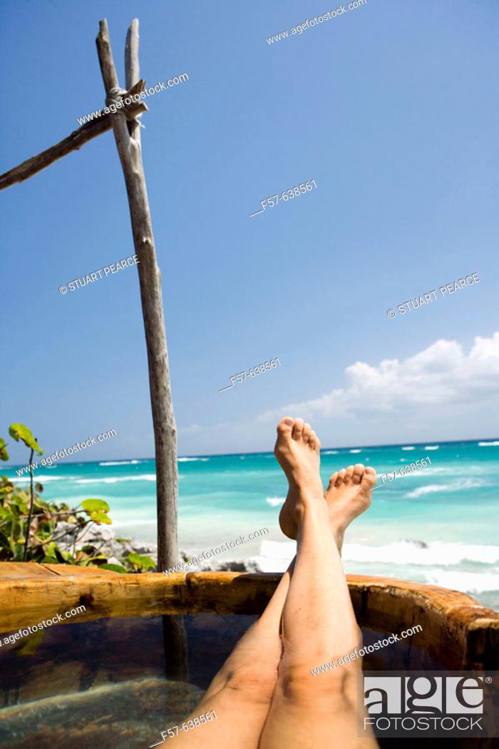 Stock Photo: Mayan Riviera. Quintana Roo. Yucatan Peninsula, Mexico.