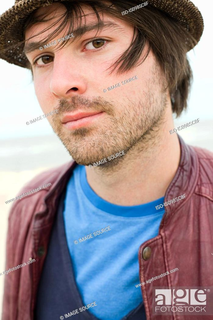 Stock Photo: Young man outdoors.