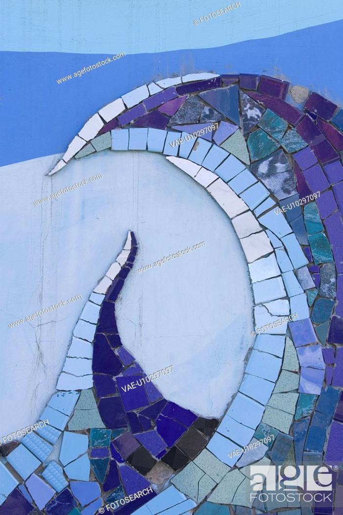 Stock Photo: Close-Up, Full Frame, Design, Curve, Art Product.