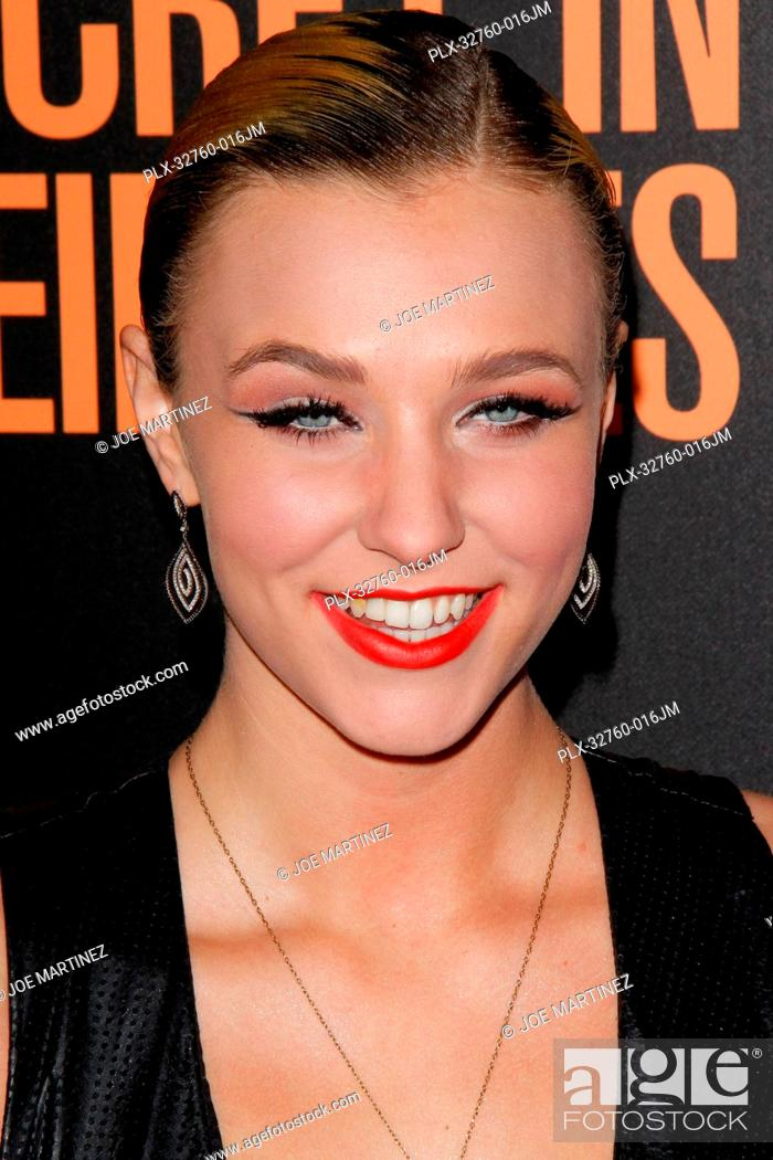 Stock Photo: Maty Noyes at the Premiere of Secret In Their Eyes held at the Hammer Museum in Westwood, CA, November 11, 2015. Photo by Joe Martinez / PictureLux.