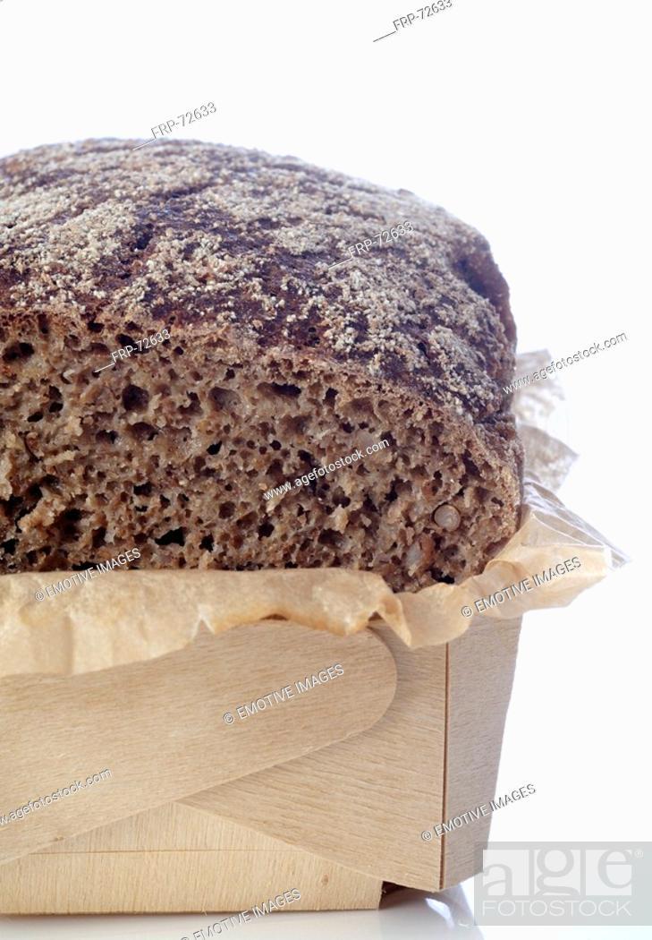Stock Photo: Biological bread.