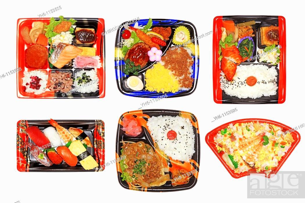 Stock Photo: BENTO Lunch Boxes, Japan, Fukushima.