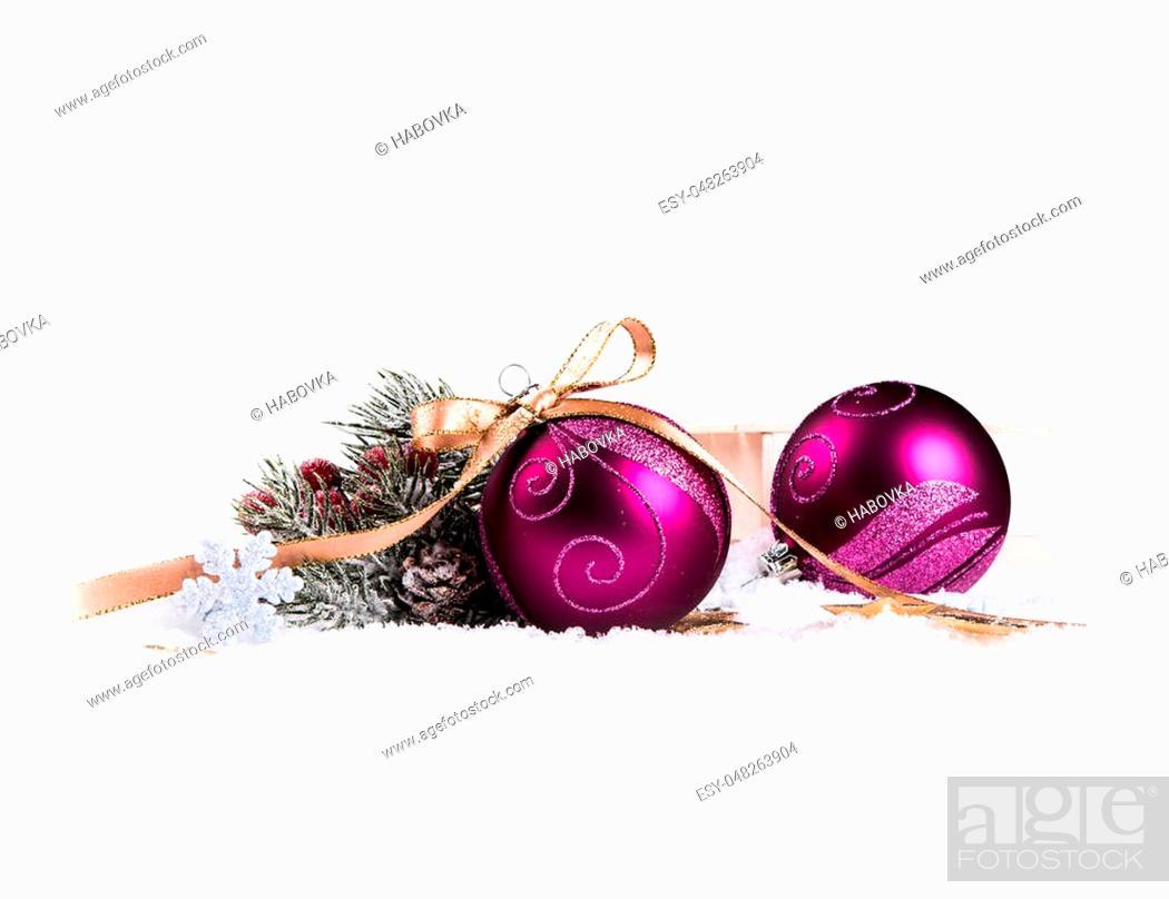 Stock Photo: Christmas decoration, Celebration object.