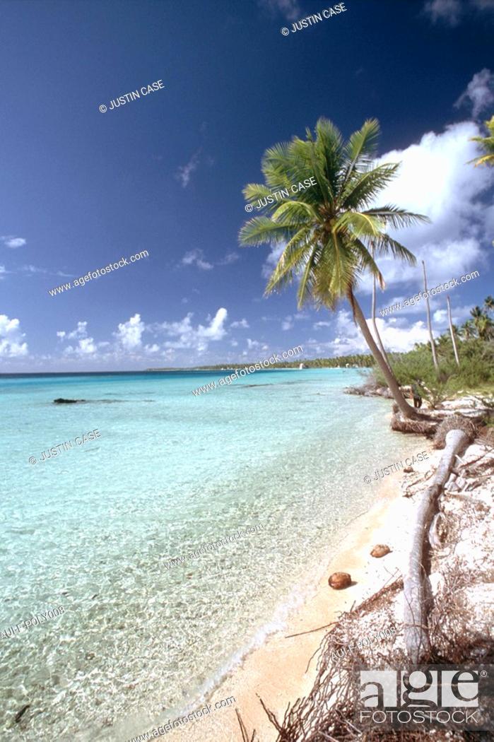 Stock Photo: French Polynesia - Marquises islands - Ua Pou.
