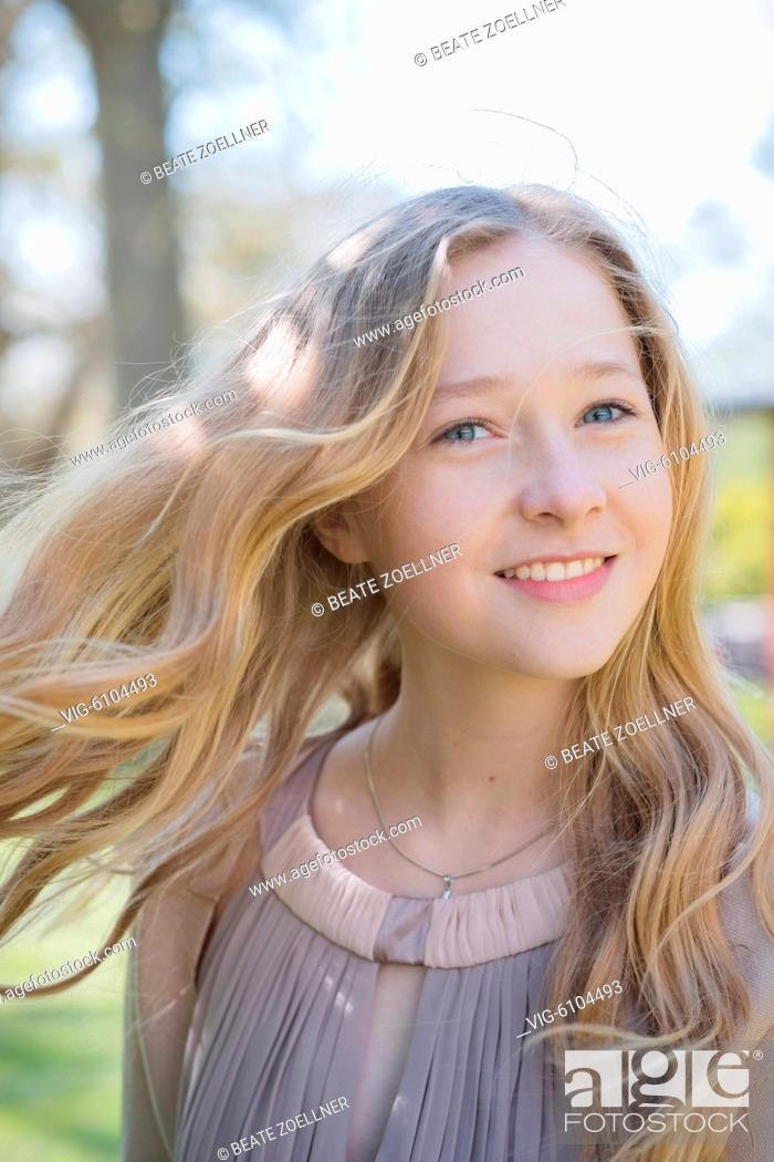 junge blonde madchen