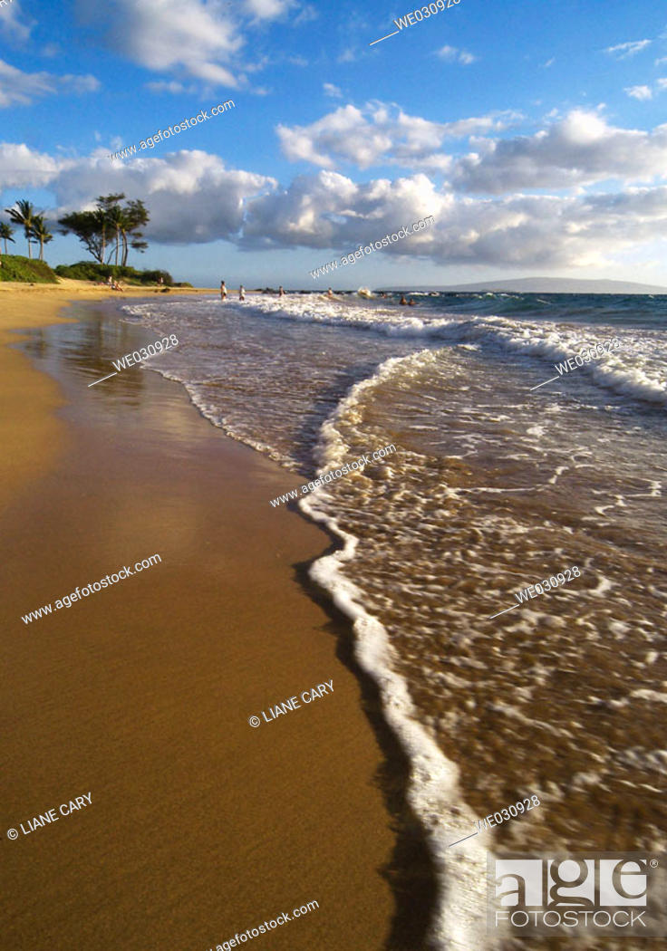Stock Photo: Maui beach. Hawaii, USA.