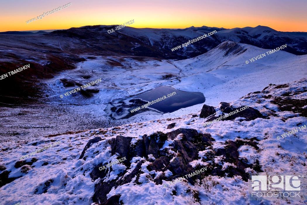 Stock Photo: Svidovets Mountain Ridge, Carpathian Mountains, Ivano-Frankovsk Region, Ukraine.