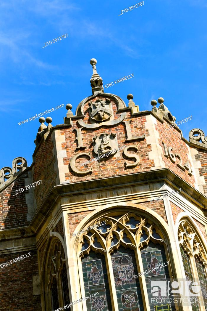 Imagen: I. L. C. S (Iohannes Lincolniensis Custos Sigilli) St. John's College Library, an early example of Gothic Revival. It has a fine window facing the river.