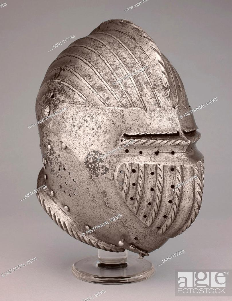 Stock Photo: Armet - About 1520/30 - Southern German. Steel. 1510 - 1540. Southern Germany.