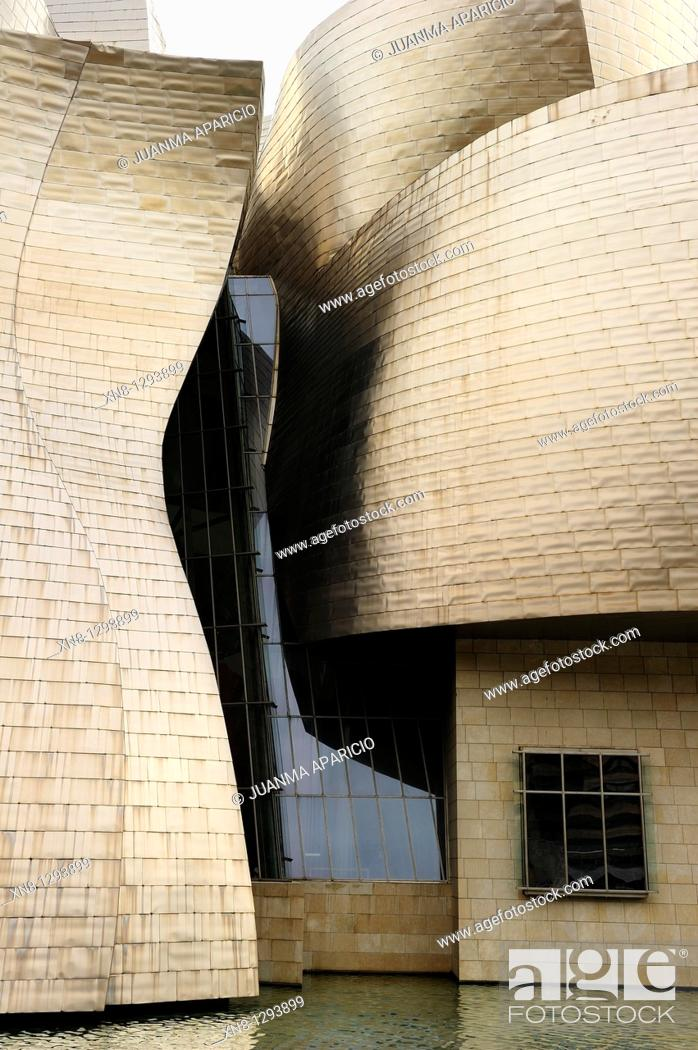 Stock Photo: Guggenheim museum, Bilbao.